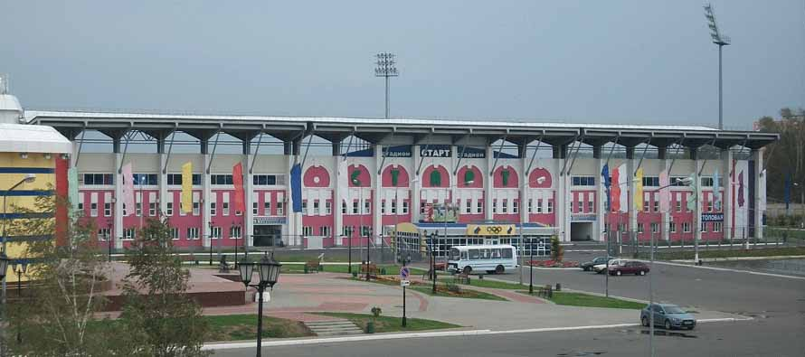 Exterior of Start Stadium
