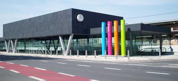 Kortrijk's train station
