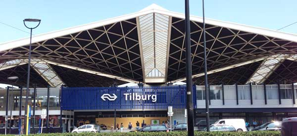 Main entrance of Tilburg Station