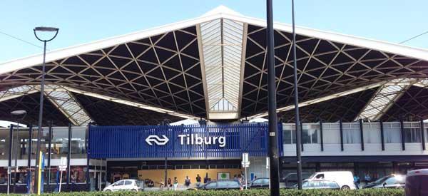 Main entrance of Tilburg Station