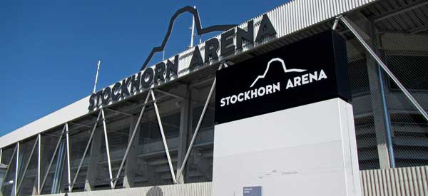 Stockhorn Arena Sign