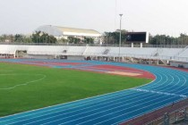 Inside Suphan Buri Stadium