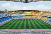Inside the colourful Suwon World Cup Stadium
