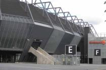 Exterior of Swedbank Stadium Malmo