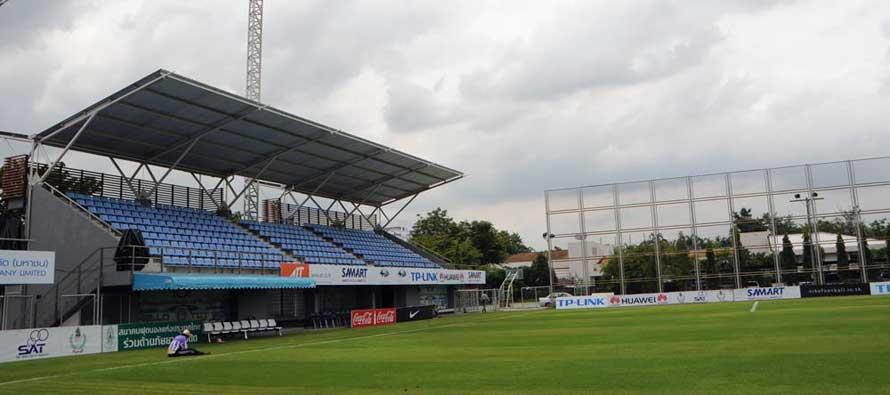 The main stand of TOT Cat Stadium