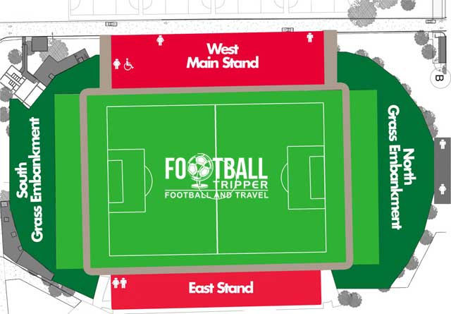 ABSA Tuks Stadium Seating Chart