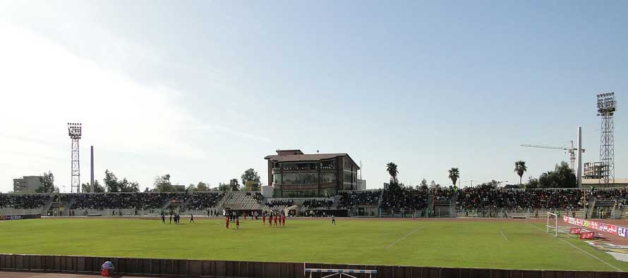 Takhiti Stadium on a matchday