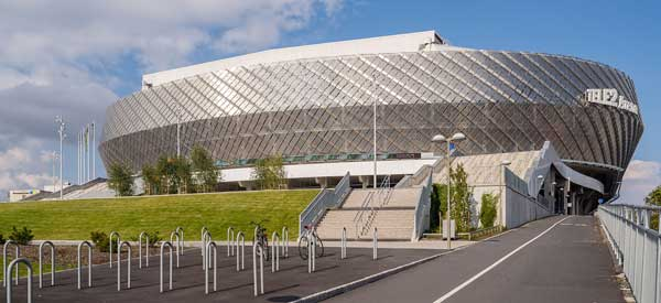 Exterior of Tele2 Arena