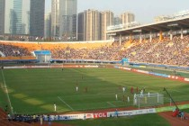 Inside Tianhe Stadium on matchday
