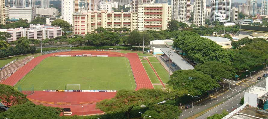 A view overlooking Toa Payoh Stadium