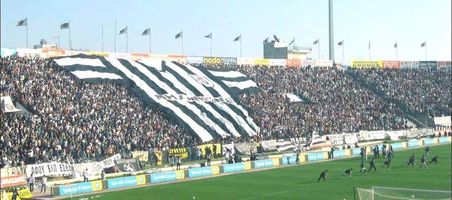 Toumba Stadium main stand