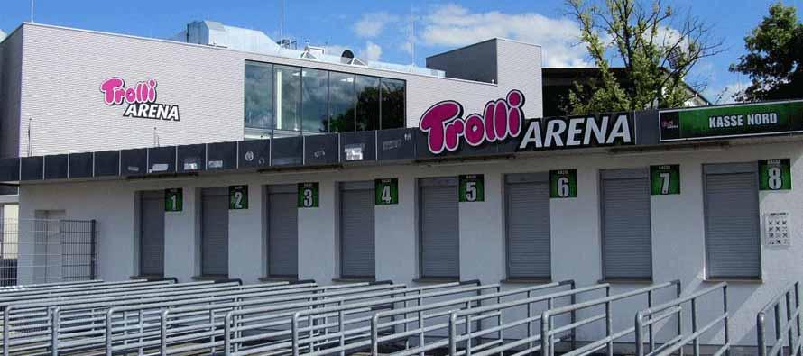Stadion am Laubenweg turnstile