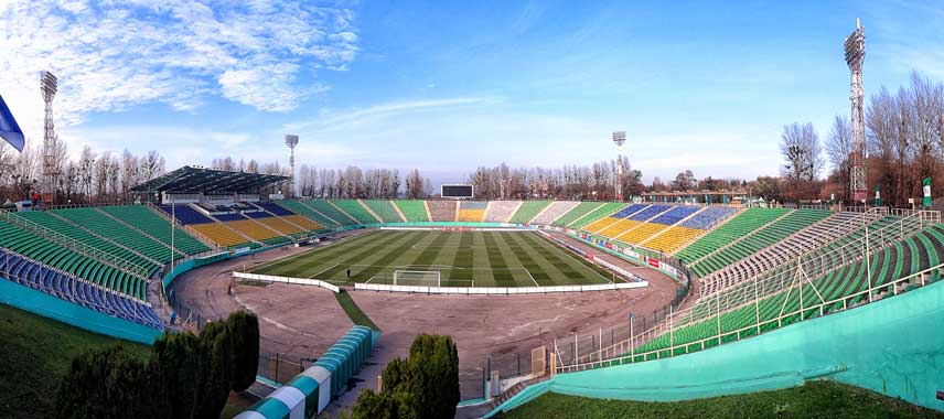 inside ukraina stadium