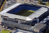 Aerial view Ullevaal Stadion
