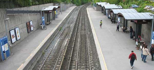 Ulleval Stadion Station