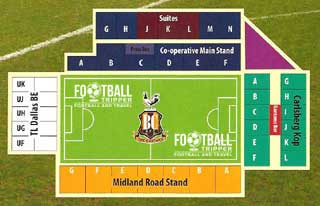 Valley Parade Seating Plan