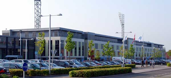 Exterior of Viborg Stadion