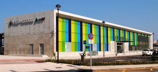 Exterior of Vigo Guixar Station