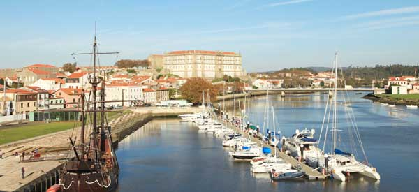 Sea view of Vila do Conde