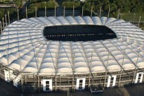 Aerial View Volksparkstadion