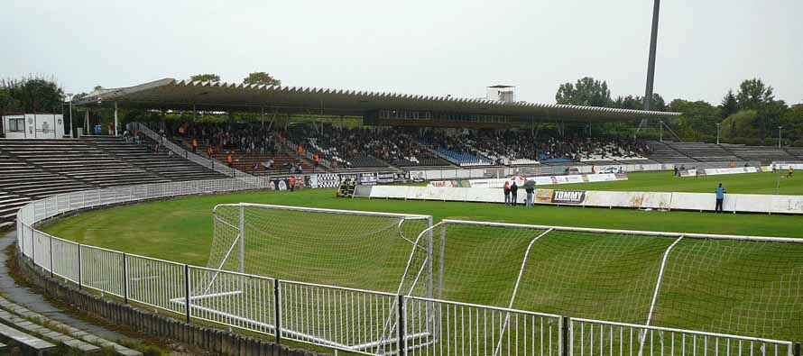 View from the curva at Vsesportovni Stadion