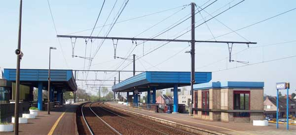 Waregem Train station