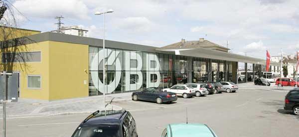 Wiener Neustadt train station hbf