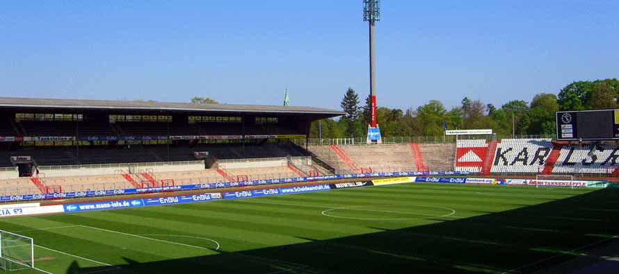 wildparkstadion pitch