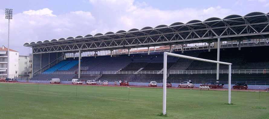 Inside Zosimades Stadium
