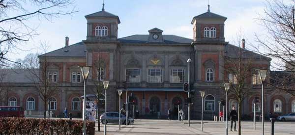 Aalborg Station exterior