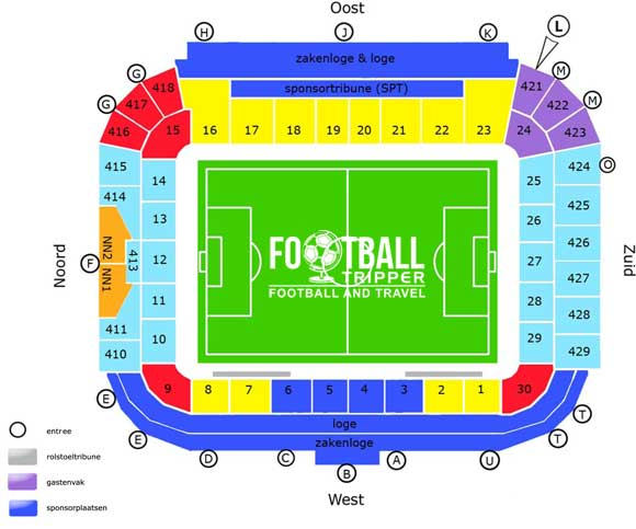 Abe Lenstra Stadion seating chart