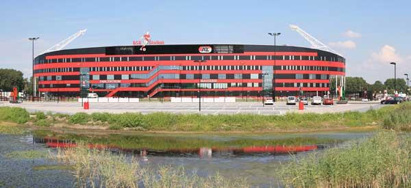 Exterior of AFAS Stadium