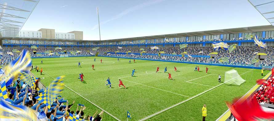 AFC Wimbledon Concept Stadium