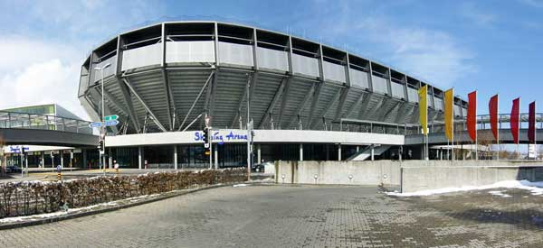 Exterior of AFG Arena