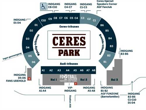 Ceres Park Stadium plan