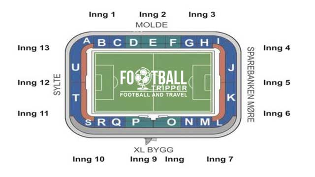 Aker Stadion Seating Plan