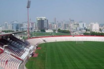 Inside view of Al Ahli stadium