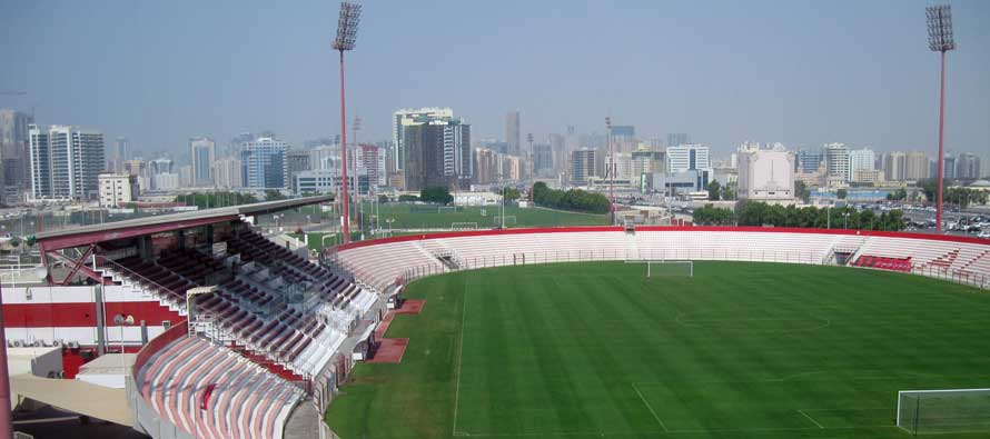 Inside view of Al Ahli stadium