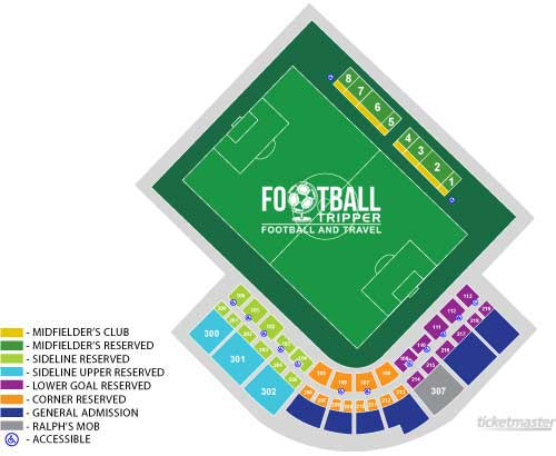 Al Lang Soccer Stadium Seating Chart