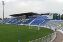 Main stand of Al Maktoum Stadium