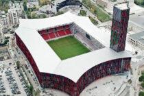 Aerial view of Air Albania Stadium