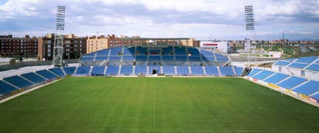 The main stand at Coliseum Alfonso Perez