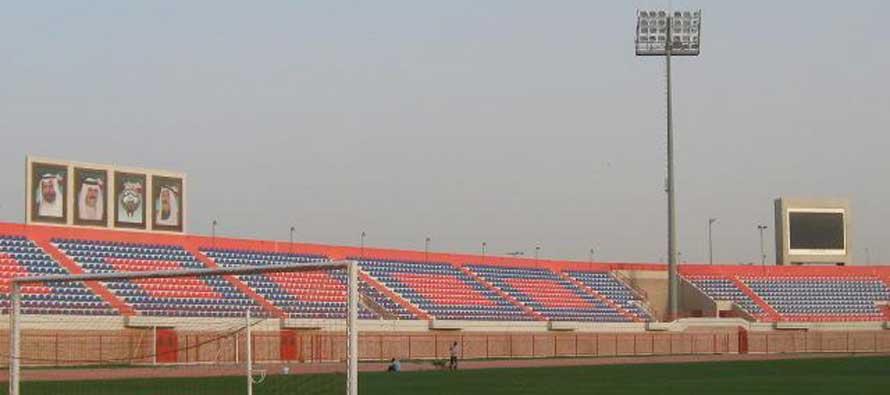 Inside a dusky Ali Sabah Stadium