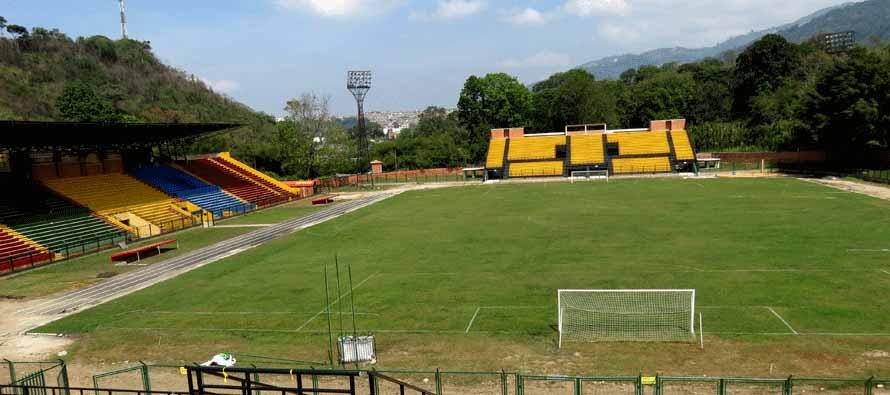 Internal view of Alianza Petrolera Estadio