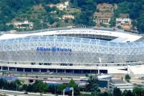 Allianz Riviera aerial view
