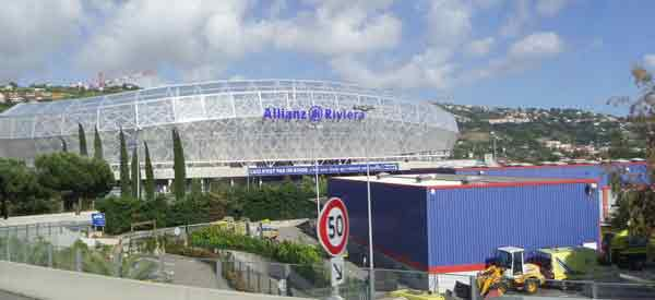 Outside Allianz Arena Exterior
