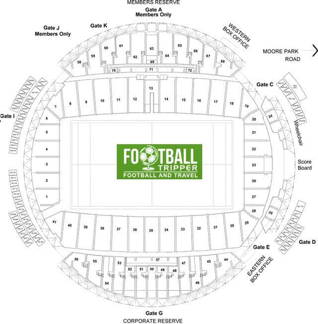 Allianz Stadium Seating Plan Sydney