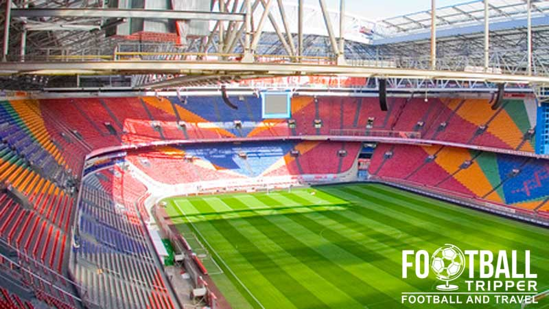Amsterdam arena afc ajax guide football tripper for Arena amsterdam