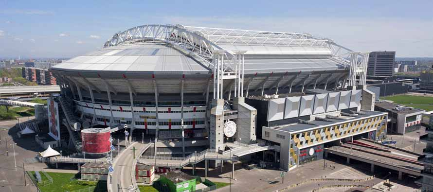 External view of Amsterdam Arena