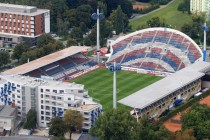 Aerial view of Andruv Stadion